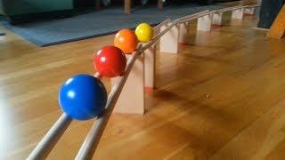 Stabkugelbahn - eine raumgreifende mobile Konstruktion