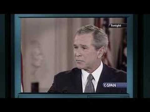 Bush Questioned about 9/11 Commission