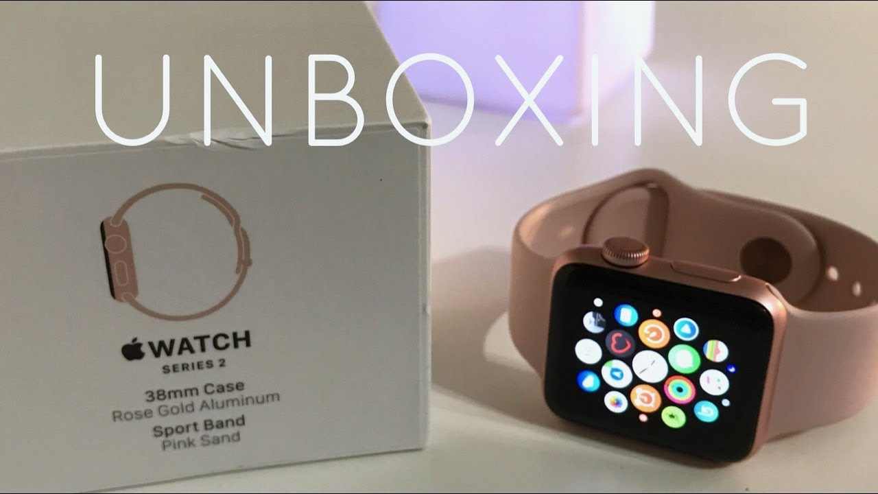 the best attitude eefdb d6925 Unboxing: Rose Gold Series 2 Apple Watch (38mm)