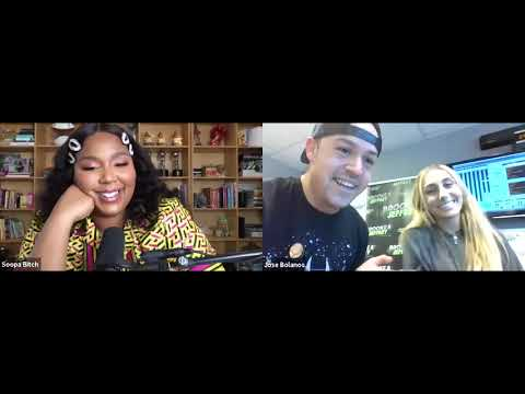 The REAL Lizzo Chats w/ Jose & Alexis - Brooke & Jeffrey in the Morning