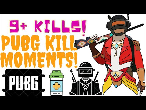 PUBG kill moments PC (random gun fights) Aug 2020
