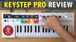 Arturia KEYSTEP PRO // Review & full tutorial // vs BeatStep Pro and SL mk3