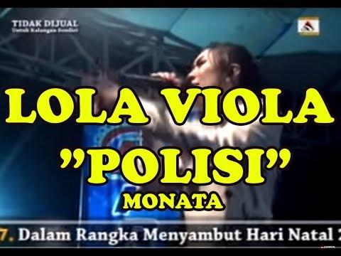LOLA VIOLA MONATA - POLISI LIVE IN BLITAR 2016