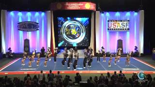 Spirit of Texas Purple Reign Worlds 2014 International Open Coed 5 Finals