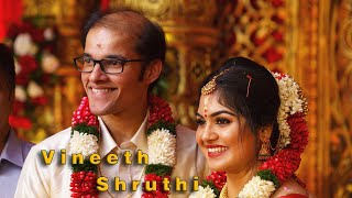 Grand hindu wedding film of Vineeth & Shruthi