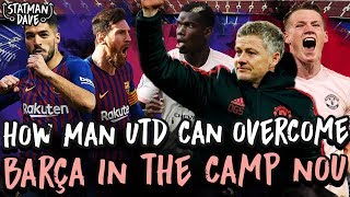 How Man Utd Can Beat Barcelona at the Nou Camp