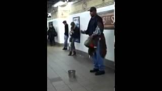 "Subway Man sings Adele: ""Someone like You"""