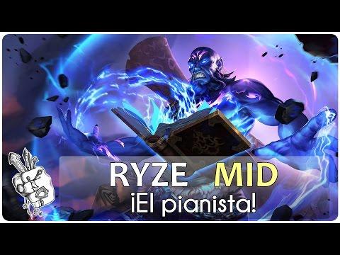 RYZE MID | Season 6 - ¡El PIANISTA!
