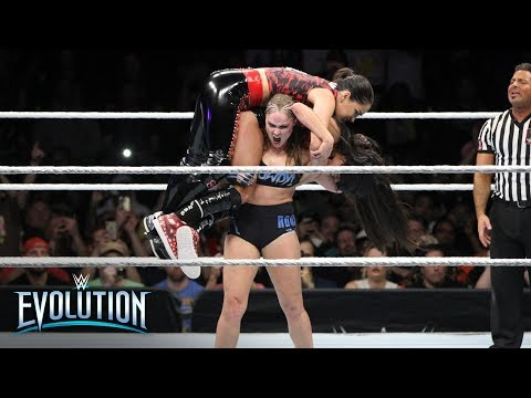 Ronda Rousey Retains The Raw Women's Championship: WWE Evolution 2018 (WWE Network Exclusive)
