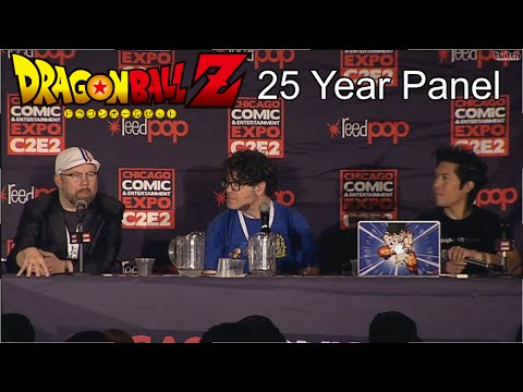 25 Years of Dragon Ball Z Panel with Sean Schemmel and Chris Sabat