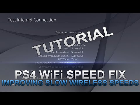 How to Fix Bad WiFi Speeds On The PS4 - YouTube