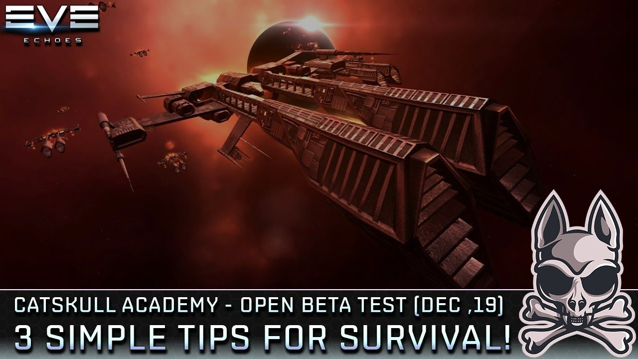 Top 3 Tips For Surviving In New Eden Eve Echoes Obt December 2019 Youtube