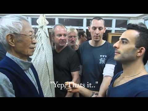 Wing Chun Grandmaster Chu Shong Tin 3 methods of teaching: 1.Muscle manipulation  2.Chi 3.Mind State