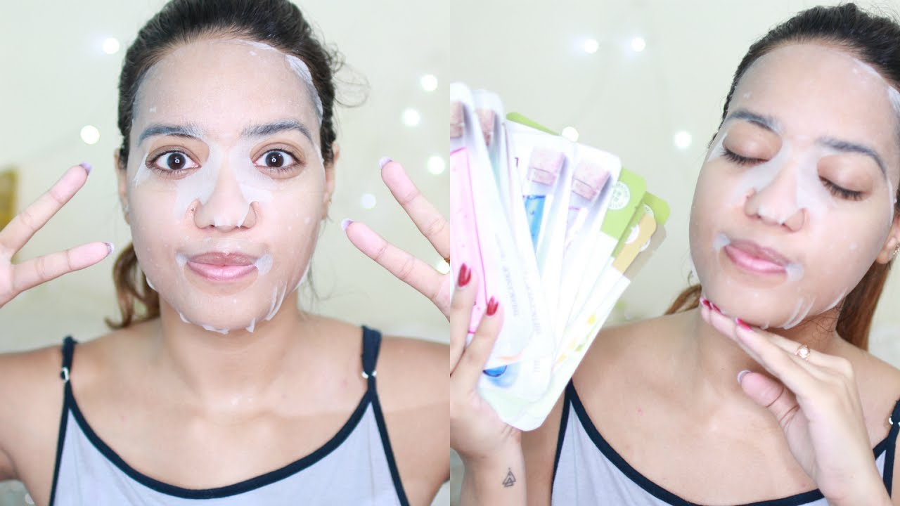All About Sheet Masks How To Use Common Mistakes The Entire Face Shop Real Nature Mask Kelp Range Overview