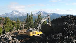 Latham Excavation: Mt. Bachelor Adds New Zipline