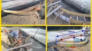 Крыльцо - бетонные ступени крыльца своими руками - опалубка