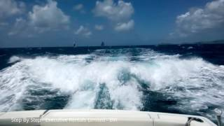 Step By Step BVI - Tiara Yachts 4200 Open - with excellent handling in rough seas