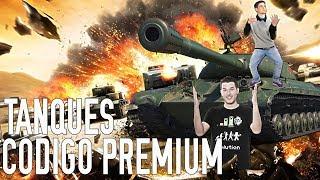 *CÓDIGO GRATIS* Cuanto más GRANDE... Mejor :DDDDDDD World of Tanks con Perxitaa