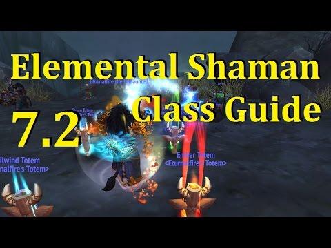Legion Elemental Shaman 7 2 Pve Class Guide Youtube