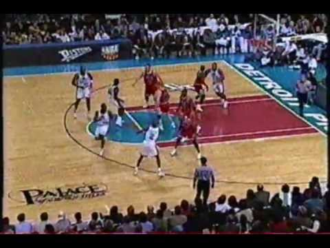 NBA Tricks of the Trade - Rick Mahorn Pulls the Chair on Luc Longley