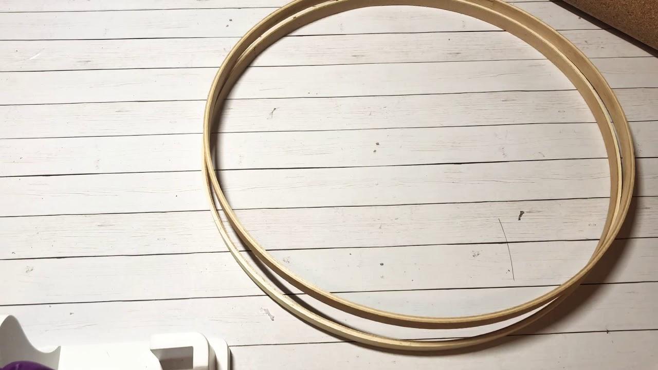 Embroidery Hoop Challenge Youtube