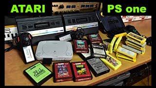 Atari 2600 Playstation PS one Memory Card 8 MB Star Atari Joystick