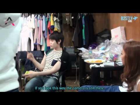 [B2STLYSUBS] Apink Hush MV Making - Yoseob cut