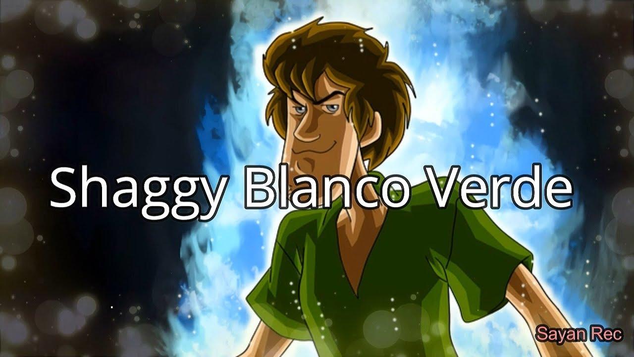 Shaggy Blanco Verde