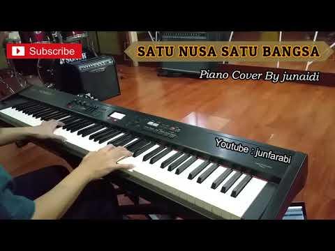 Satu Nusa Satu Bangsa piano cover - instrumental - by junfarabi
