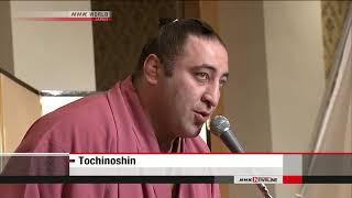 Tochinoshin gets Georgia's national award