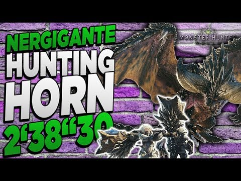 "Monster Hunter World - TA Wiki Hunting Horn Nergigante Kill 2'38""30 - MHW thumbnail"
