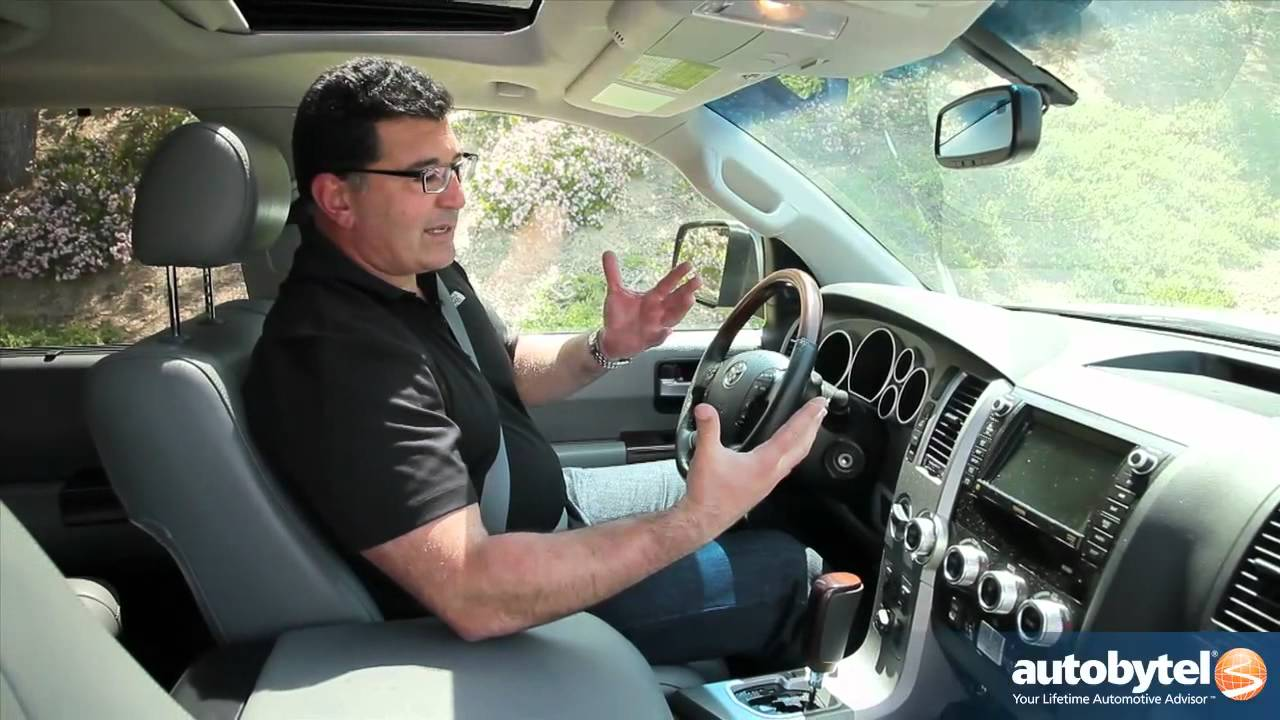 2012 Toyota Sequoia Test Drive & SUV Video Review - YouTube