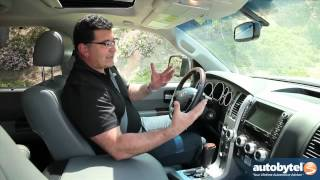2012 Toyota Sequoia Test Drive & SUV Video Review