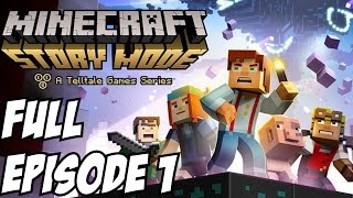 Minecraft Story Mode Gameplay Walkthrough Part 1 Full Episode 1 Let's Play Playthrough Review