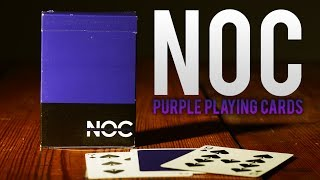 Deck Review - Noc Playing Cards Purple - HouseOfPlayingCards