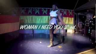 ALEVANILLE & WOODY HELEN @ WOMAN I NEED YOU 2nd Edition