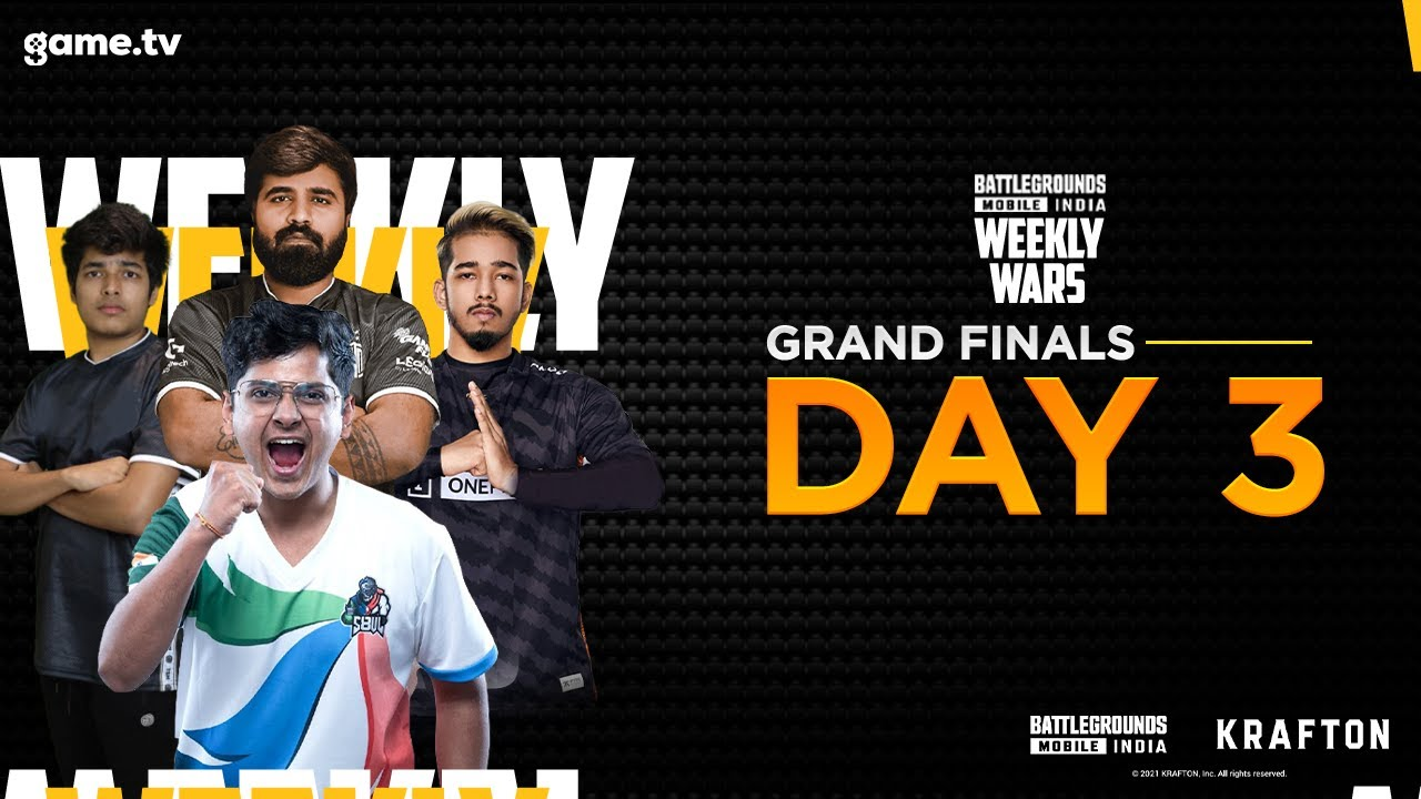 Download BATTLEGROUNDS MOBILE INDIA   GTVWS S1 Final   Day 3 - Powered by game.tv