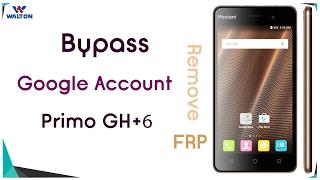 Bypass Google Account WALTON Primo GH6+ Remove FRP