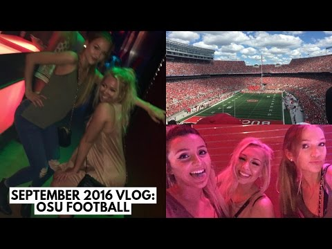 September Vlog: OSU Football (Bowling Green and Tulsa Games) | Maddie Cidlik Vlogs