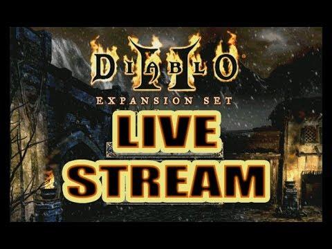Diablo 2 Live Stream ( Hell mode with the Bone Necro)
