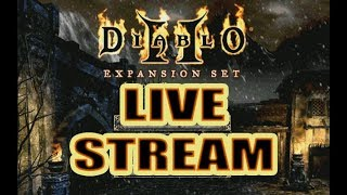Diablo 2 Live Stream ( Hell mode with the Bone Necro)