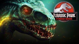 INDORAPTOR IN JPOG!   Jurassic World Fallen Kingdom (Operation Genesis Mod)