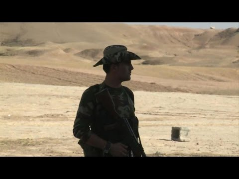 Iraq village now military outpost for Kurdish fighters