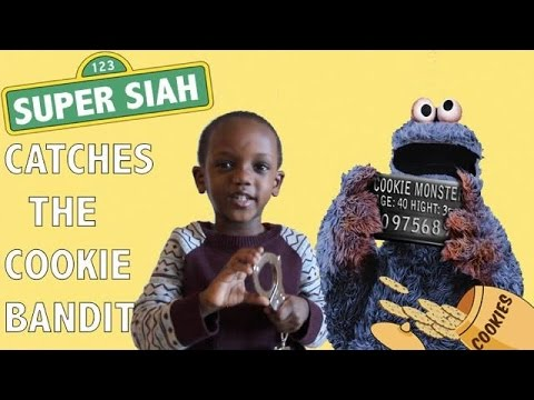 Super Siah Catches The Cookie Bandit!