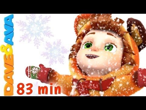 Ten Little Snowflakes | Christmas Songs for Kids | Nursery R