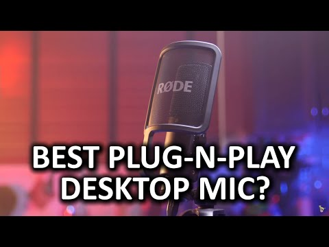Rode NT-USB Desktop Mic - Inexpensive, Awesome, Plug-and-play Solution?