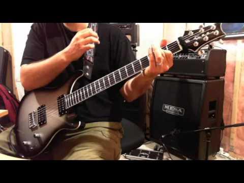 Godsmack - I Stand Alone PRS SE Baritone guitar cover