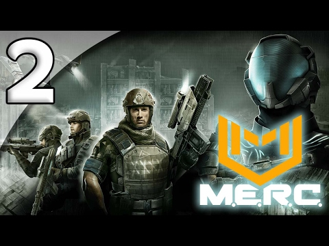 M.E.R.C. [First Taste] - 2. Banking Crisis - Let's Play M.E.R.C. Gameplay