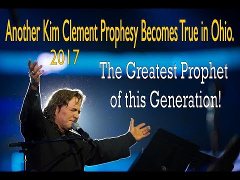 Kim Clement's New Energy Prophesy Update