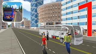 City Coach Bus Simulator 3D: New Bus Games Free Gameplay Walkthrough Part 1 screenshot 4